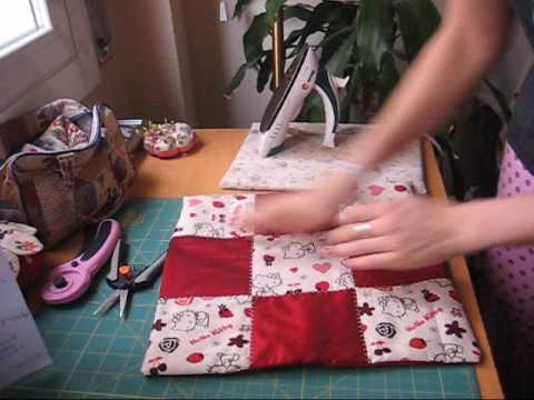Nairamkitty Crafts: Tutorial Funda De Cojin En Patchwork co