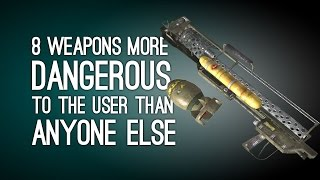 getlinkyoutube.com-8 Weapons More Dangerous to the User Than Anyone Else