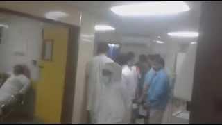 هكذا تبدو الحالات الطارئة في مستشفى المجاردة