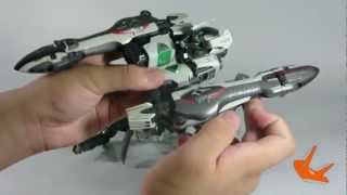 getlinkyoutube.com-[Hobby toys review] DX Aquarion Forced Attack Type part 1