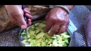 getlinkyoutube.com-Mango Chutney / Kachi Keri Ki Chutney Complete Video
