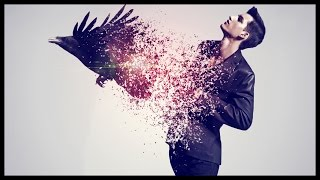 getlinkyoutube.com-Photoshop CS6: Disintegration Effect | Raven