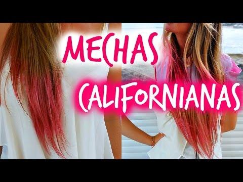 Mechas Californianas Caseras Temporales - Papel Pinocho