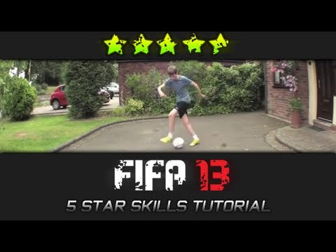 FIFA 13 I All 5 Star Skill Moves Tutorial IRL (PS3/XBOX360)