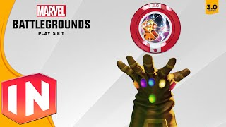 getlinkyoutube.com-Disney Infinity 3.0 - ALL Power Discs In Marvel Battlegrounds Showcase
