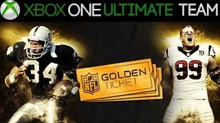 getlinkyoutube.com-MUT 15 - GOLDEN TICKETS REVIEW + BISCUITS | Madden 15 Ultimate Team XB1 Auction Block Series