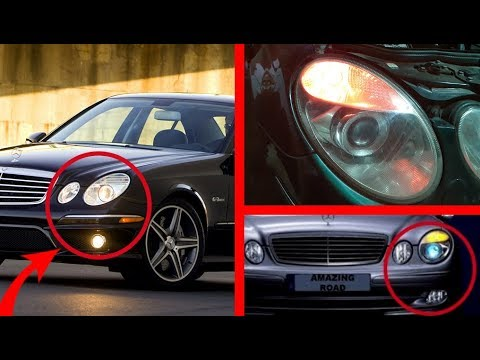 Hidden Function of Fog Lights on Mercedes W211, W219, CLS/Error Front Left, Right Turn Signal lamp