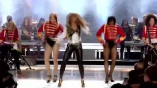 getlinkyoutube.com-Lady Gaga Alejandro VS Beyonce Single Ladies Telephone You And I Teeth Bad Romance Paparazzi Live HD