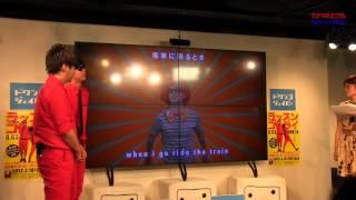 getlinkyoutube.com-8.6秒バズーカとラッスンゴレライ「英語ver. 」共演!