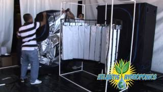 Vertical Hydroponic System & Grow Room Kit Setup