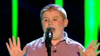 getlinkyoutube.com-Stephen McLaughlin performs 'Piece Of My Heart' - The Voice UK 2015: Blind Auditions 1 – BBC One