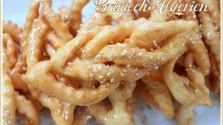 getlinkyoutube.com-griwech algerien / griwech Algerian pastry / Ramadan pastry