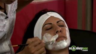 getlinkyoutube.com-Hair Removal - Bleaching the Face