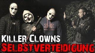getlinkyoutube.com-Killer Clowns Prank Vs  Kampfsportler   Prank geht schief   KAMPFKUNST LIFESTYLE