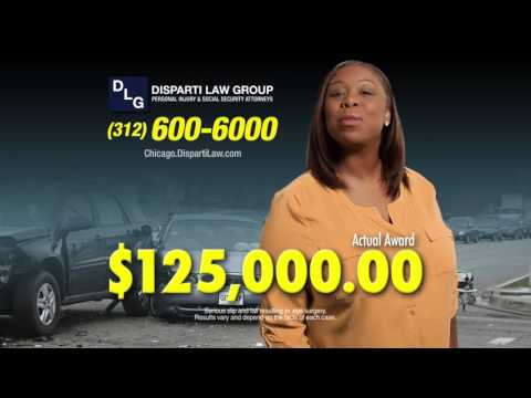 Injured in a Car Wreck? Call the Disparti Law Group NOW!
