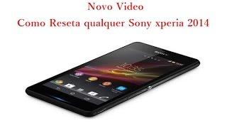 getlinkyoutube.com-Como Reseta qualquer Sony xperia 2014