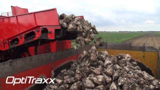 Agrifac Holmer Exxact OptiTraxx sugar beet harvester - Best soil conservation, better soil structure
