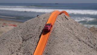 getlinkyoutube.com-Hot Wheels Beach Track