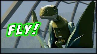 getlinkyoutube.com-LEGO Jurassic World - LBA - EPISODE 15 - AVIARY FLIGHT!