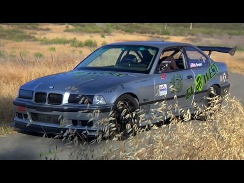 This Electric E36 Makes 850 lb/ft of Torque at the Wheels! - TUNED