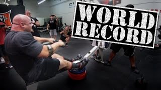 getlinkyoutube.com-World's Strongest Man Brian Shaw Takes 100M Rowing Record on a Whim