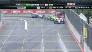 Sao Paulo Indy 2013 - Epic Finish - IZOD IndyCar 2013