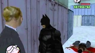 getlinkyoutube.com-Gta San Andreas Batman The Dark Knight