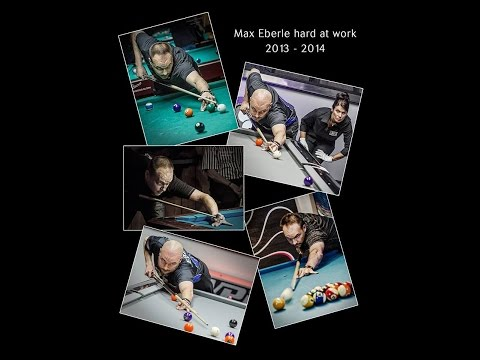 How To Play Pool:  STRAIGHT POOL 14.1 Practice Max Eberle 81 Ball Run