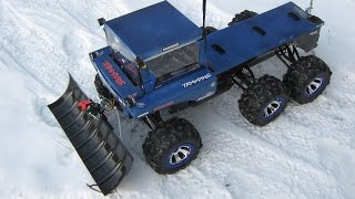 getlinkyoutube.com-How to make a RC snow plow