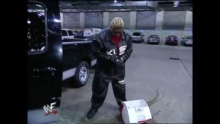 getlinkyoutube.com-Rikishi Destroys Stone Cold's Truck: SmackDown, 19 Oct. 2000