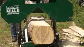 getlinkyoutube.com-2013 HM126 Portable Sawmill In Action