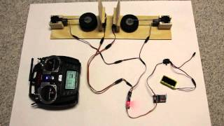 getlinkyoutube.com-Electric retracts & gear door sequencer - P-51 style and P-47 style