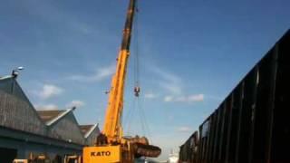 getlinkyoutube.com-Super Crane Transport