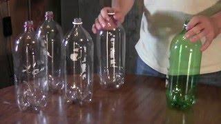 getlinkyoutube.com-How to make a broom from soda bottles