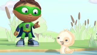 Super Why Full Episodes - The Ugly Duckling ✳️  S01E09 (HD)