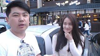 getlinkyoutube.com-[11] 최군의 홍대야방 '미녀인터뷰' 하기!! - KoonTV