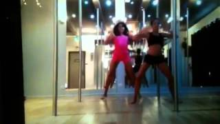 getlinkyoutube.com-Kim glow Shanna kress répétition danse
