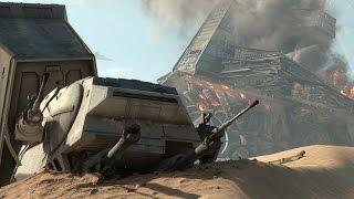 getlinkyoutube.com-Star Wars Battlefront - The Battle of Jakku
