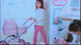 getlinkyoutube.com-لعبة الطفل البيبي عربة بيبى و بيبى حقيقى يتكلم و يتحرك  العاب بنات و أولاد