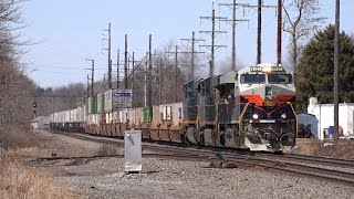 getlinkyoutube.com-Trains on the Norfolk Southern Harrisburg Line Spring 2015
