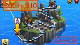 getlinkyoutube.com-Monster Legends, Adventure Map, levels 301 to 310
