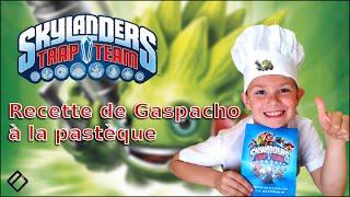 getlinkyoutube.com-EPIC RECETTE SKYLANDERS ! Dégustation Gaspacho à la pastèque en famille - Family Geek