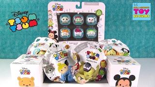 getlinkyoutube.com-Disney Tsum Tsum Nightmare Before Christmas Palooza Opening Toy Review | PSToyReviews