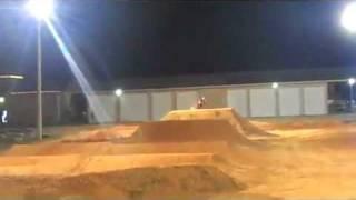 getlinkyoutube.com-James Stewart Night Training at his Home Supercross Track