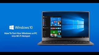 Сделать точку доступа Wi-Fi в Windows 10
