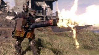 getlinkyoutube.com-WH-Mk.22 Heavy Machinegun - Fallout 4 Mods (PC/Xbox One)