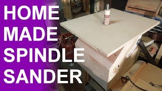 getlinkyoutube.com-Homemade oscillating spindle sander.