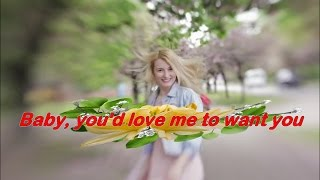 I'd Love You To Want Me ( 1972 )  -  LOBO  -  Lyrics