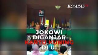 Detik-Detik Jokowi Diganjar Kartu Kuning di UI