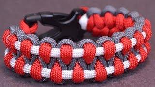 getlinkyoutube.com-Make an Outstanding Paracord Survival Bracelet - BoredParacord